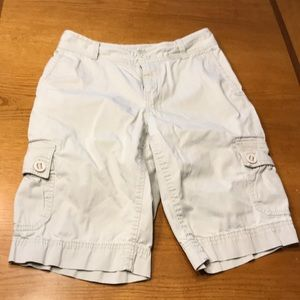 Eddie Bauer shorts, 4, tan